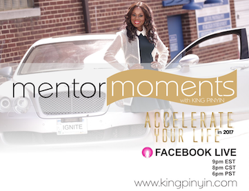 MENTOR MOMENTS WITH KING